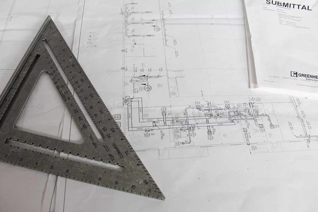 picture of architectural drawing