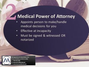 Medical or Health Care Power of Attorney